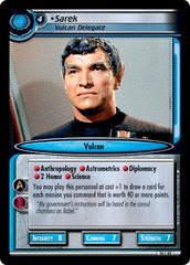 Sarek, Vulcan Delegate
