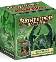 Legends of Golarion Gargantuan Green Dragon Premium Figure