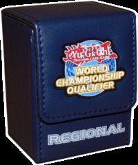 Yu-Gi-Oh World Championship Qualifier Regional Blue Deck Box