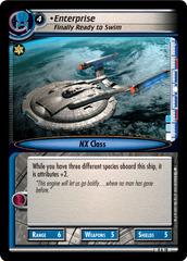 Enterprise, Finally Ready To Swim - Archive Foil