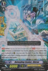 Defending Seeker, Shiron - BT16/014EN - RR