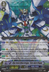 Blue Storm Wave Dragon, Tetra-burst Dragon - BT16/S14EN - SP on Channel Fireball