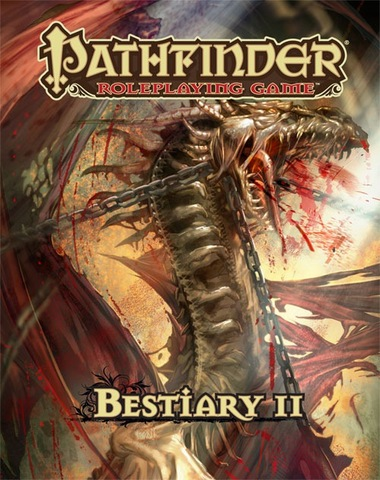 Pathfinder Roleplaying Game: Bestiary 2 Hardcover - Pathfinder