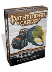 Pathfinder Cards: Iron Gods Adventure Path Item Cards Deck