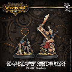 Idrian Skirmisher Chieftain & Guide (42010)