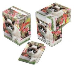 Grumpy Cat Flowers Full-View Deck Box