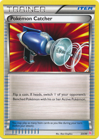 Pokemon Catcher - 23/30 - XY Trainer Kit (Sylveon)