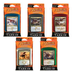 MTG Dragons of Tarkir Intro Pack: Set of 5 Decks