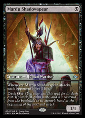Mardu Shadowspear - Game Day Promo