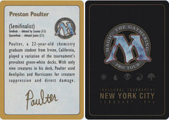 Biography - Preston Poulter - 1996