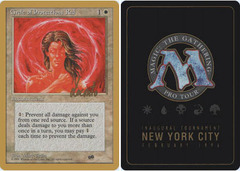 Circle of Protection: Red - 4th Edition - Sideboard - Michael Locanto - 1996