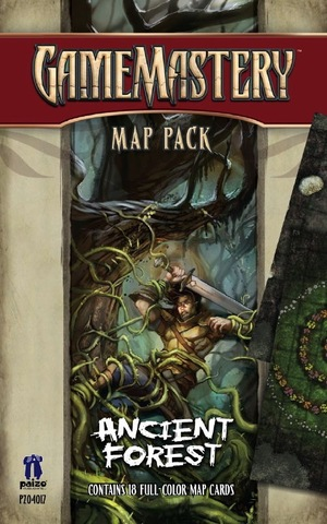 GameMastery Map Pack: Ancient Forest