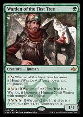 Warden of the First Tree on Channel Fireball