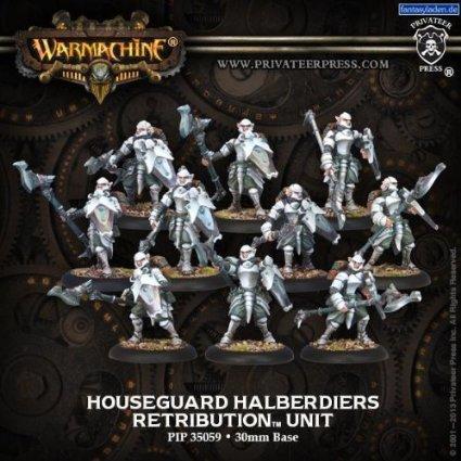 Houseguard Halberdiers