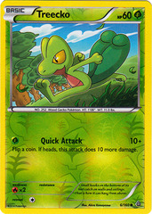Treecko - 6/160 - Common - Reverse Holo