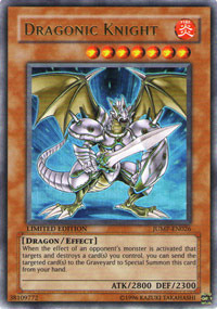 Dragonic Knight - JUMP-EN026 - Ultra Rare - Limited Edition