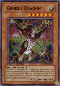 Genesis Dragon - JUMP-EN034 - Ultra Rare - Limited Edition