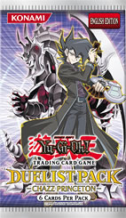 Yu-Gi-Oh Duelist Pack 2: Chazz Princeton Unlimited Booster Pack