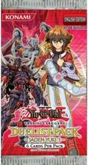 Duelist Pack 6: Jaden Yuki 3 1st Edition Booster Pack