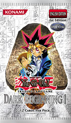 Dark Beginning 1 1st Edition Booster Pack