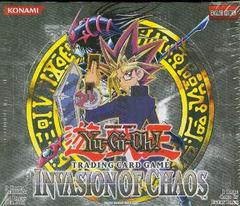 Yu-Gi-Oh Invasion of Chaos Unlimited Booster Box