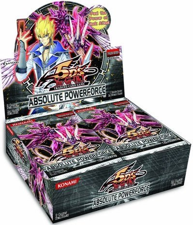Yu-Gi-Oh Absolute Powerforce Unlimited Booster Box