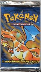 Base Set Unlimited Booster Pack (Charizard Art)