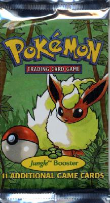 Pokemon Jungle Booster Pack (Unlimited)