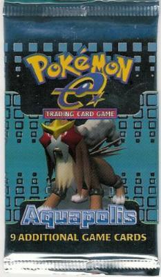 Pokemon Aquapolis Booster Pack