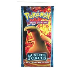 Pokemon EX Unseen Forces Booster Pack
