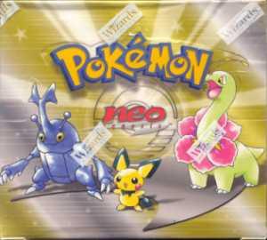 Pokemon Neo Genesis Unlimited Booster Box