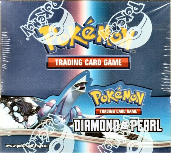 Pokemon Diamond & Pearl Base Set Booster Box