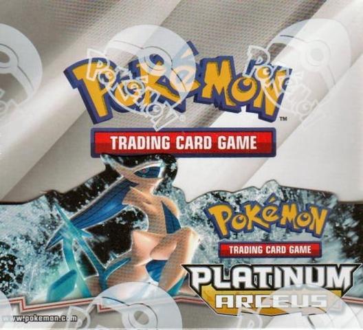 Platinum: Arceus Booster Box