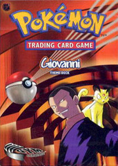 'Giovanni' Gym Challenge Theme Deck