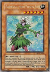 Elemental Hero Poison Rose - PP02-EN006 - Secret Rare - Unlimited Edition on Channel Fireball