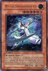 Mystic Swordsman LV6 - RDS-EN008 - Ultimate Rare - 1st Edition