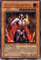Thestalos the Firestorm Monarch - RDS-EN021 - Ultimate Rare - 1st Edition