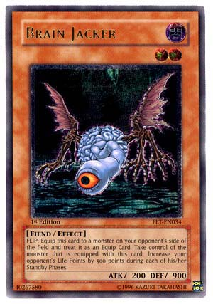 Brain Jacker - FET-EN034 - Ultimate Rare - 1st Edition