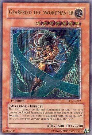 Gearfried the Swordmaster - FET-EN022 - Ultimate Rare - 1st Edition