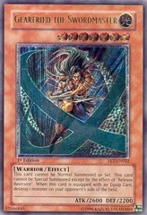 Gearfried the Swordmaster - FET-EN022 - Ultimate Rare - 1st Edition