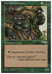 Gorilla Chieftain on Channel Fireball