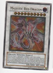 Majestic Red Dragon - ABPF-EN040 - Ultimate Rare - 1st Edition