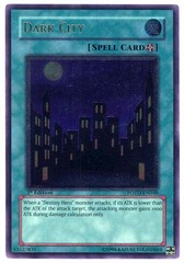 Dark City - POTD-EN048 - Ultimate Rare - 1st Edition