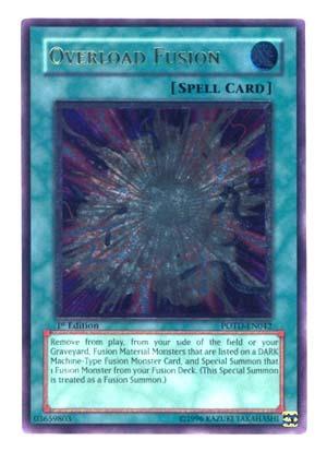 Overload Fusion - Ultimate - POTD-EN042 - Ultimate Rare - 1st