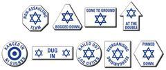 Israeli Token Set