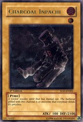 Charcoal Inpachi - SOD-EN001 - Ultimate Rare - 1st Edition