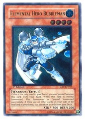 Elemental Hero Bubbleman - Ultimate - CRV-EN014 - Ultimate Rare - 1st