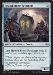 Hewed Stone Retainers - Foil