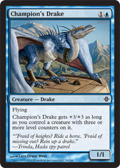 Champion's Drake on Channel Fireball
