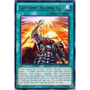 Gottoms Second Call - SECE-EN056 - Rare - 1st Edition